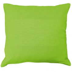 Lana Woven Cotton Cushion Cover - Lime Green