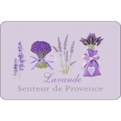 Lavender Floral Opaque Placemat - Purple