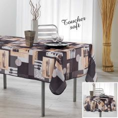 Cantine Printed Tablecloth - Multi