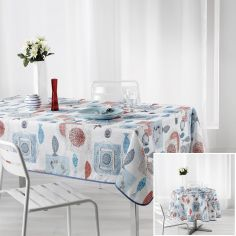 Cap Ferret Printed Tablecloth - Multi