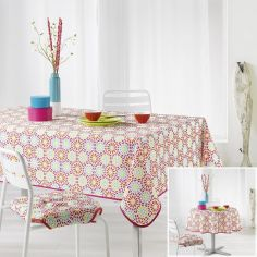 Kaleida Printed Tablecloth - Multi