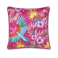 Catherine Lansfield Parrot Cushion Cover - Pink