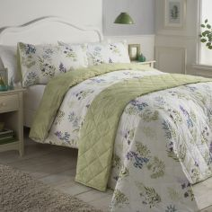 Arwen Floral Duvet Cover Set - Green Multi