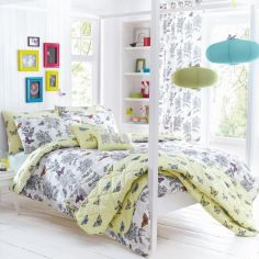 Aviana Floral Duvet Cover Set - Multi