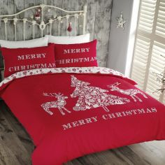 Merry Christmas Duvet Cover Set
