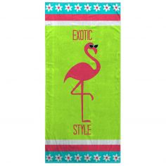 Bright and Colourful 100% Cotton Beach Towel - Exotic Style
