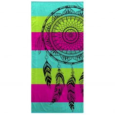 Bright and Colourful 100% Cotton Beach Towel - Mirage