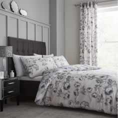 Catherine Lansfield Shrewsbury Floral Duvet Cover Set - Natural