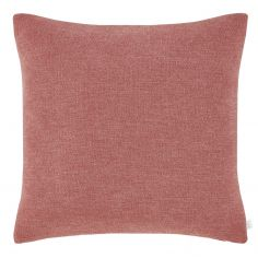 Catherine Lansfield Chenille Texture Cushion Cover - Pink