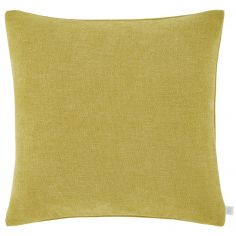 Catherine Lansfield Chenille Texture Cushion Cover - Ochre Yellow