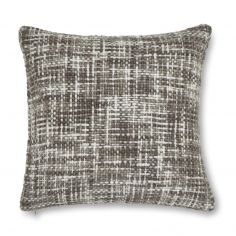 Catherine Lansfield Tonal Weave Cushion Cover - Grey