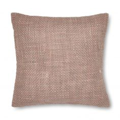 Catherine Lansfield Tonal Weave Cushion Cover - Blush Pink