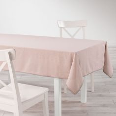 Femina Lace 100% Cotton Tablecloth - Pink