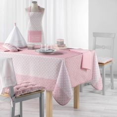 My Sweet Kitchen Printed Tablecloth - Pink