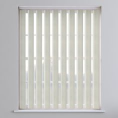Amsterdam Textured Vertical Blinds - Ivory