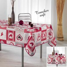 Patch Cocotte Tablecloth - Red