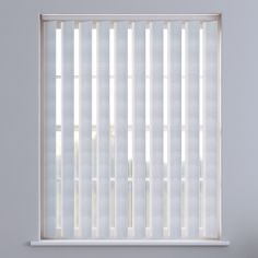 Amsterdam Textured Vertical Blinds - White