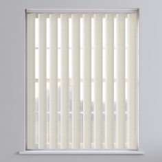 Lapwig Textured Vertical Blinds - Cream