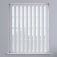 Pinata Textured Vertical Blinds - White