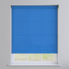 Boston Plain Roller Blind - Light Blue