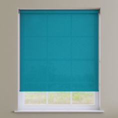 Boston Plain Roller Blind - Mosaic Blue