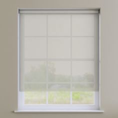 Sheer Voile Roller Blind - Cream