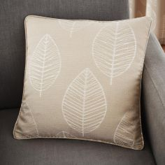 Helsinki Jacquard Cushion Cover - Natural