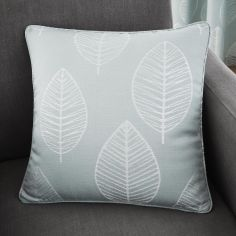 Helsinki Jacquard Cushion Cover - Duck Egg Blue