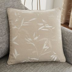 Sagano Jacquard Cushion Cover - Natural