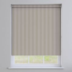Regency Striped Roller Blinds - Beige