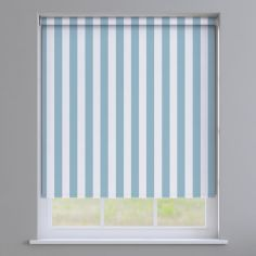 Regency Striped Roller Blinds - Blue