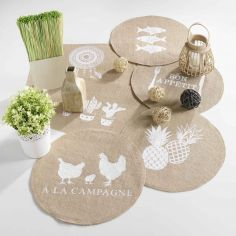Indila Dream Catcher Printed Sisal Tablemat