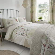Dionne Floral Patchwork Duvet Cover Set - Multi