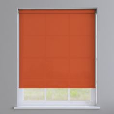 Express Plain Roller Blind - Orange