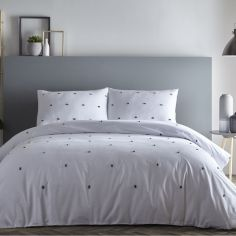 Chester Duvet Cover Set - Grey