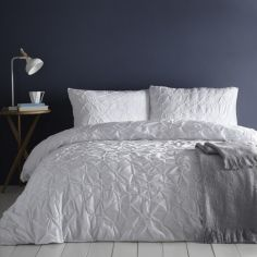 Glacier Ice Duvet Cover Set - White