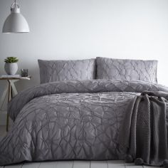 Glacier Ice Duvet Cover Set - Slate Grey
