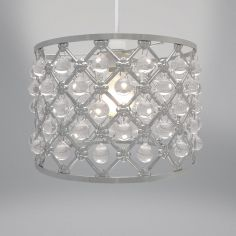 Bijou Light Fitting - Silver