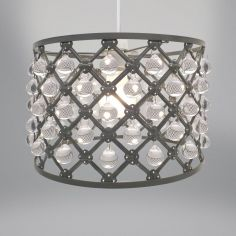 Bijou Light Fitting - Grey