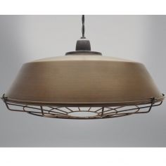 Vox Light Fitting - Antique Brown & Copper