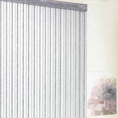 Braid String Door Curtain - Grey