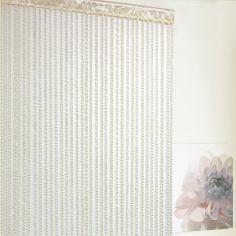 Braid String Door Curtain - Natural