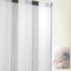 Ombre String Door Curtain - Grey
