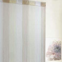 Ombre String Door Curtain - Natural