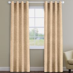 Kent Chenille Caramel Made to Measure Curtains