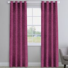 Kent Chenille Fuchsia Pink Made to Measure Curtains