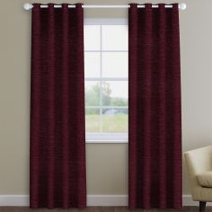Kent Chenille Mulberry Made to Measure Curtains