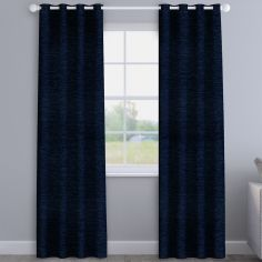 Kent Chenille Navy Made to Measure Curtains