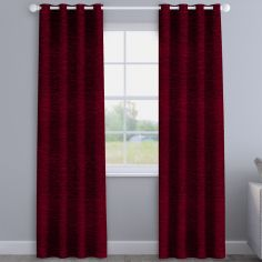 Kent Chenille Rosso Made to Measure Curtains