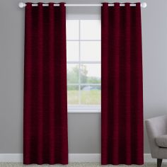 Kent Chenille Wine Made to Measure Curtains